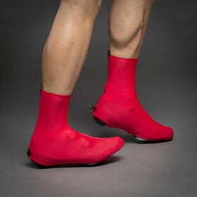 GripGrab RaceAero II Lightweight Lycra Shoe Covers red